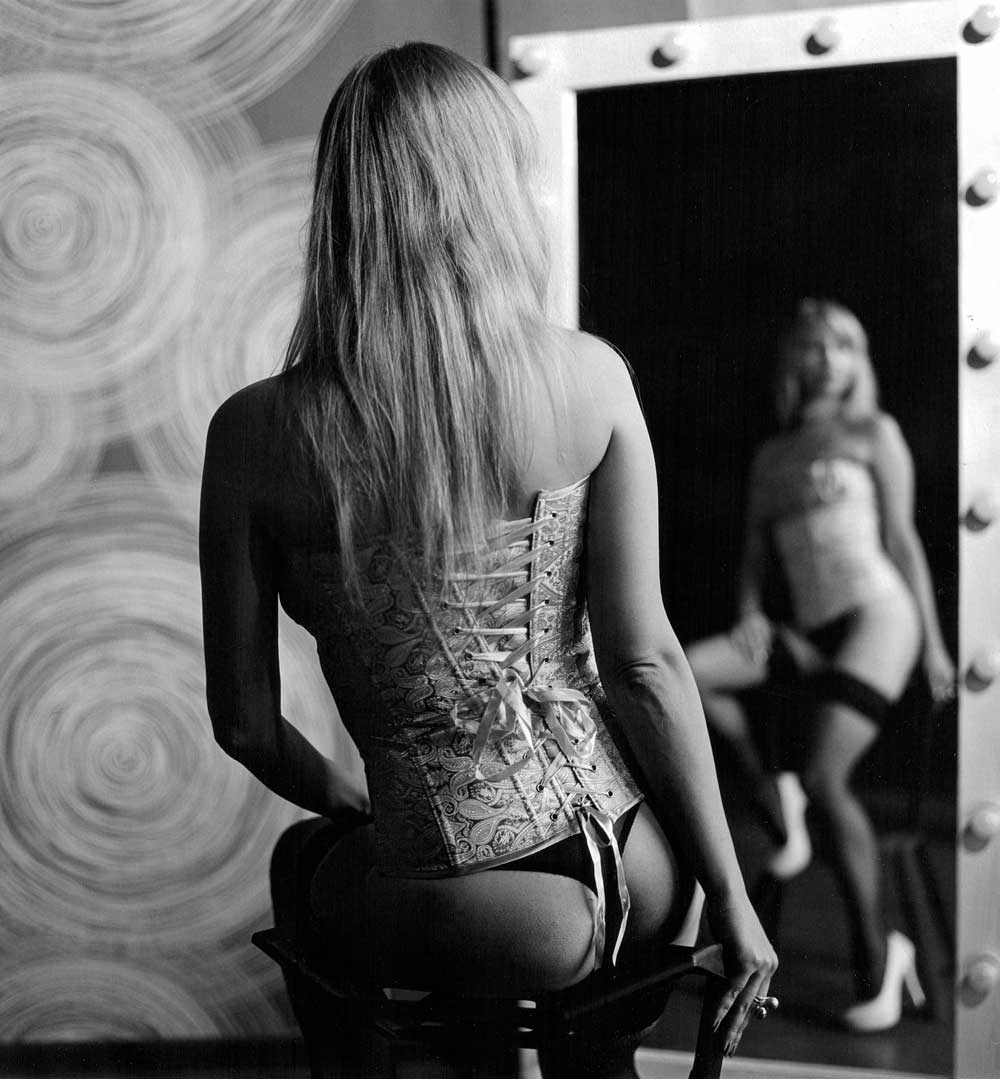 Salt Lake City Photo of Woman in Mirror