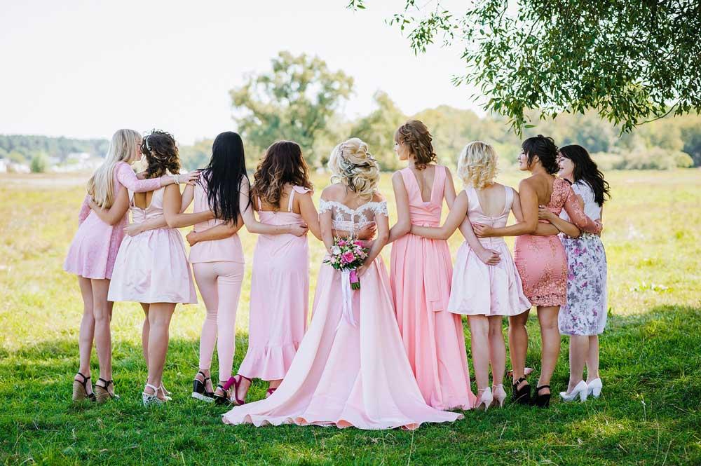 Utah Wedding Bridal Party